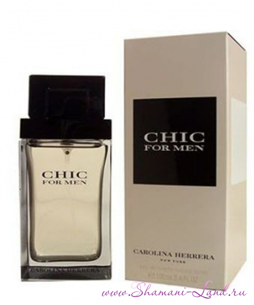 'Chic for Men ' Carolina Herrera